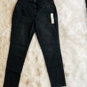 UNIVERSAL THREAD Curvy Skinny Short Black Jeans